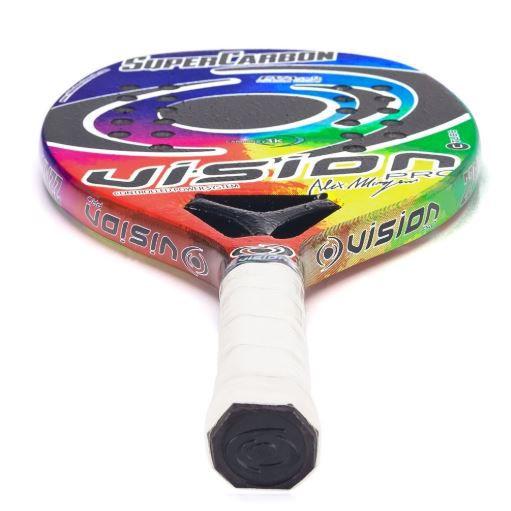 Raquete de Beach Tennis Vision Super Carbon 2019  - REAL ESPORTE