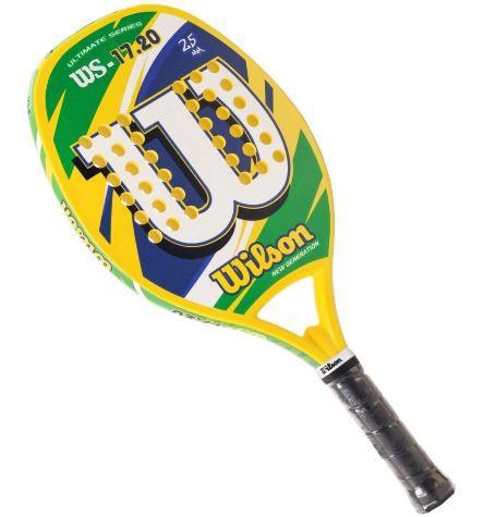 Raquete de Beach tennis Wilson 17.20  - REAL ESPORTE