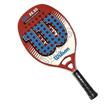 Raquete de Beach tennis Wilson 22.20  - REAL ESPORTE