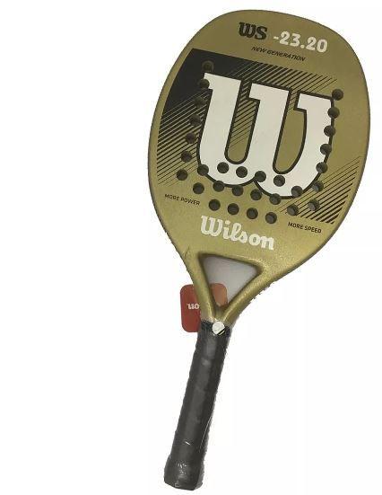Raquete de Beach tennis Wilson 23,20  - REAL ESPORTE