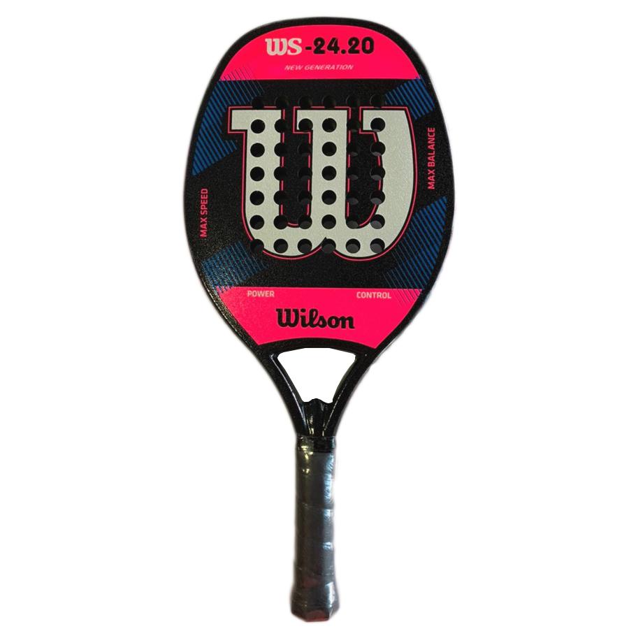 Raquete de Beach Tennis Wilson WS 24.20 New Generation - Rosa  - REAL ESPORTE