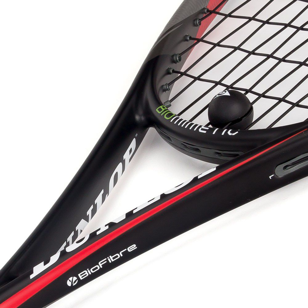 Raquete de Squash Dunlop Biomimetic Pro GTS 140   - REAL ESPORTE