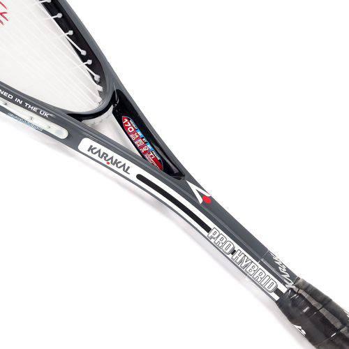 Raquete De Squash Karakal Pro Hybrid Cinza  - REAL ESPORTE