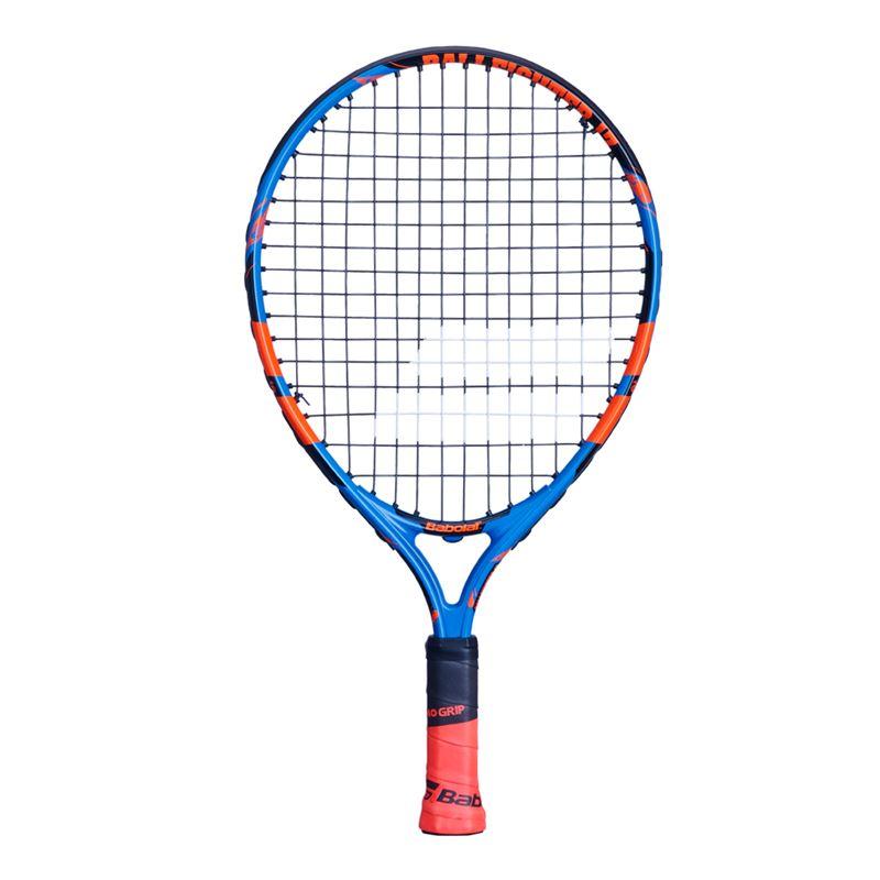 Raquete de Tenis Babolat Ballfighter 17 - Preto/Laranja  - REAL ESPORTE