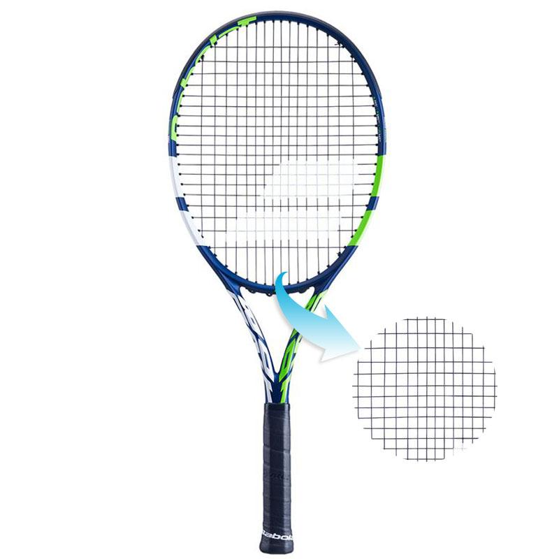 Raquete de Tênis Babolat Boost Drive Azul - Encordoada  - REAL ESPORTE