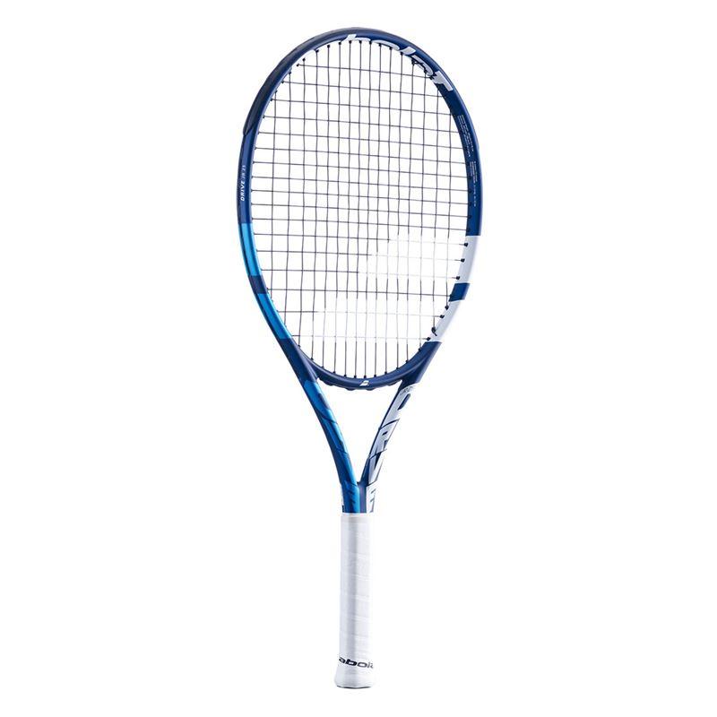 Raquete de Tênis Babolat Drive Junior 25  Masculino - Encordoada  - REAL ESPORTE