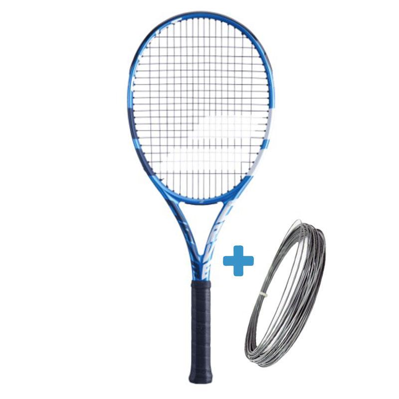 Raquete de Tênis Babolat EVO Drive Tour - Azul/Branco  - REAL ESPORTE