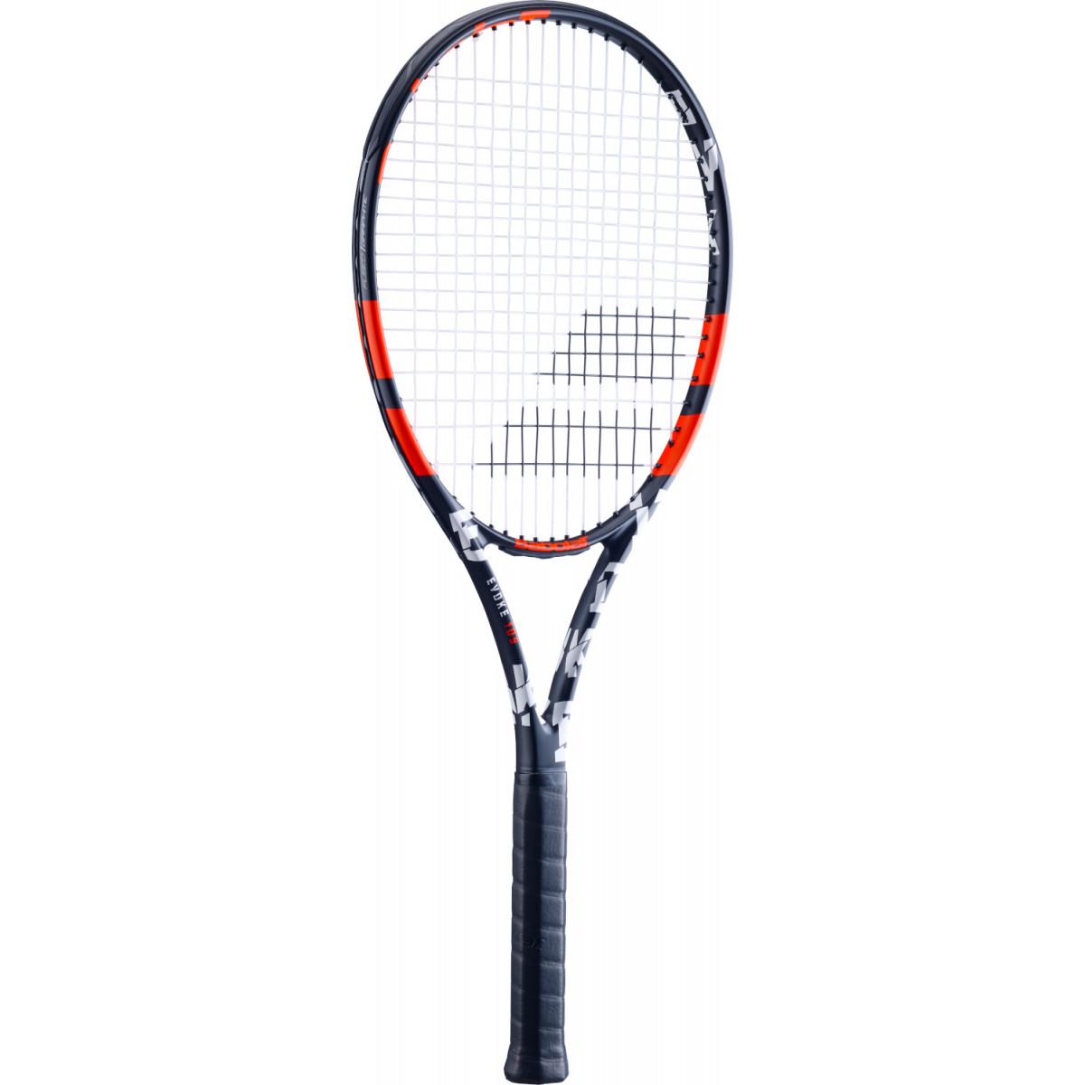Raquete de Tênis Babolat Evoke 105 - Preto/Vermelho  - REAL ESPORTE