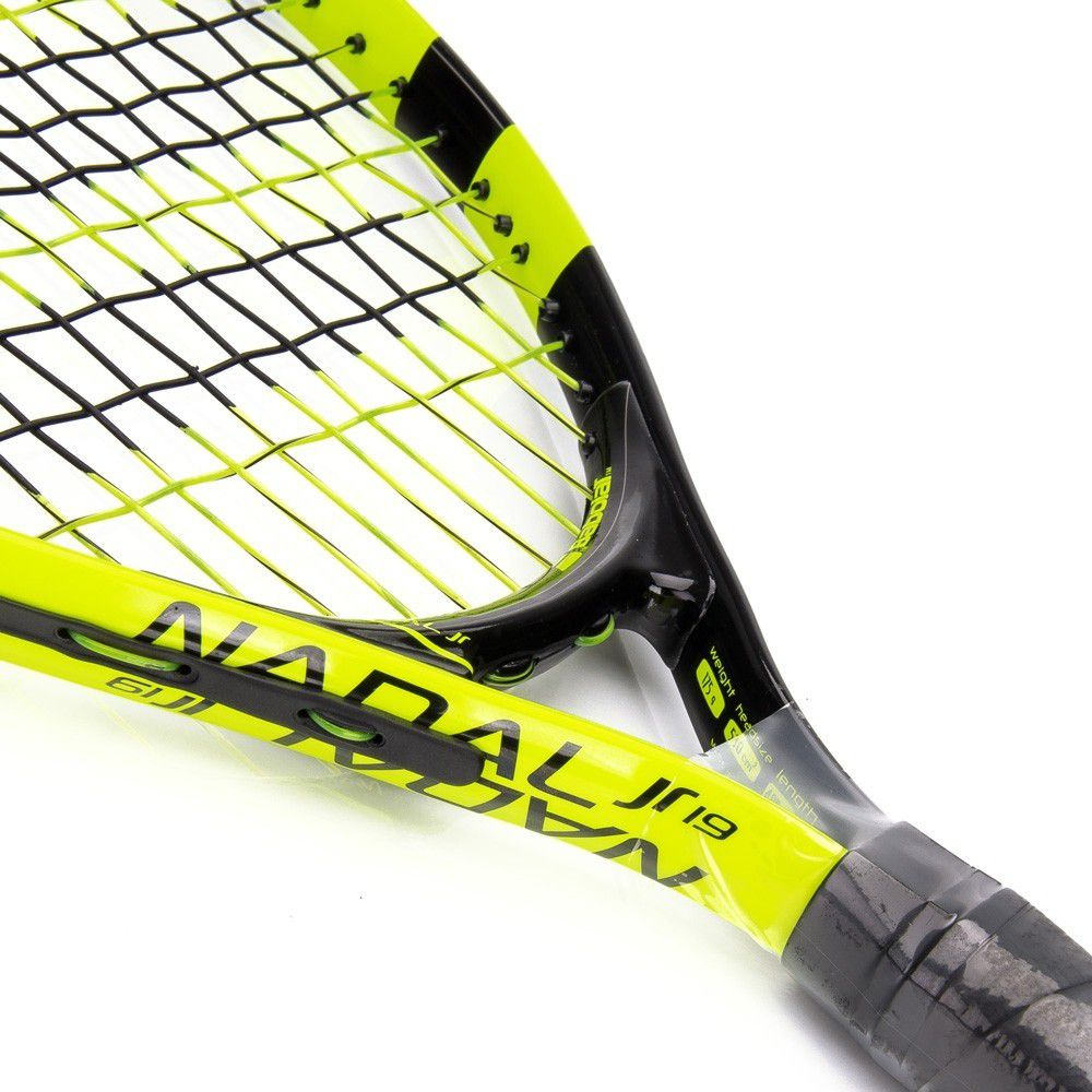 Raquete de Tênis Babolat Infantil New Nadal Junior 19 - Verde   - REAL ESPORTE