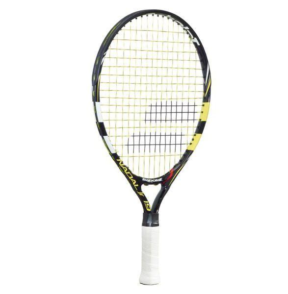 Raquete de Tênis Babolat Infantil New Nadal Junior 19 - Amarela  - REAL ESPORTE