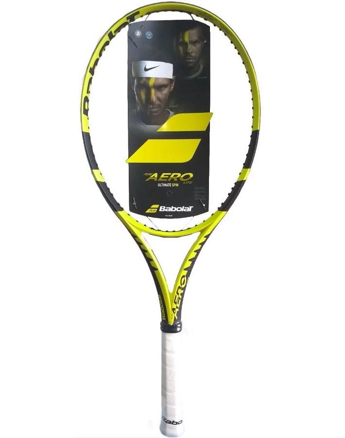 Raquete de Tênis Babolat Pure Aero Lite Edicão Limitada 270g + Corda e Bola de Brinde  - REAL ESPORTE