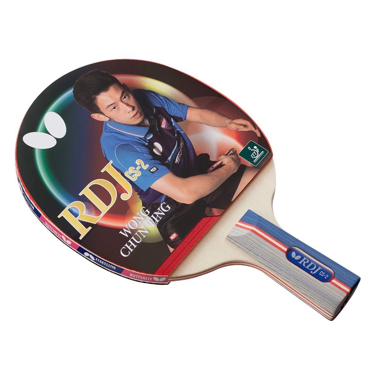 Raquete de tenis de Mesa Butterfly Caneta RDJ CS-2 - Wong Chun Ting  - REAL ESPORTE