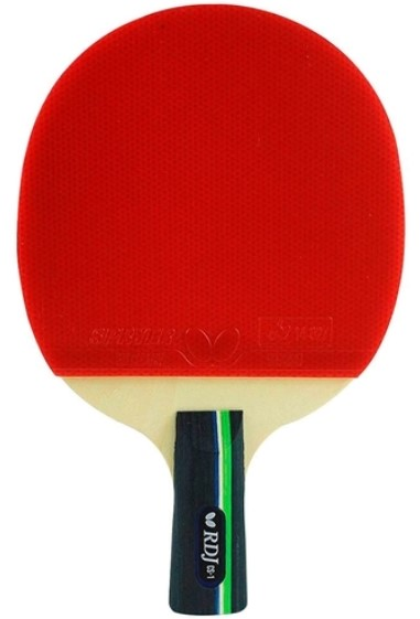 Raquete de tenis de Mesa Butterfly RDJ CS-1 - Wong Chun Ting  - REAL ESPORTE
