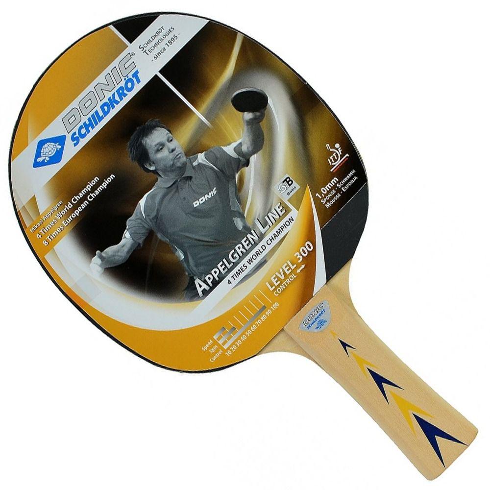 Raquete De Tênis De Mesa Donic Appelgren 300  - REAL ESPORTE
