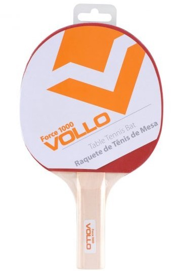 Raquete De Tênis De Mesa Force 1000 Vollo  - REAL ESPORTE