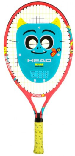 Raquete de Tênis Head Júnior Novak 19 - Laranja  - REAL ESPORTE