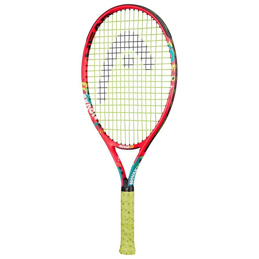 Raquete de Tênis Head Júnior Novak 23 - Laranja  - REAL ESPORTE
