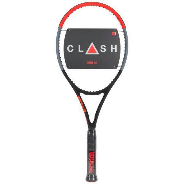 Raquete de Tênis Wilson Clash 100   - REAL ESPORTE