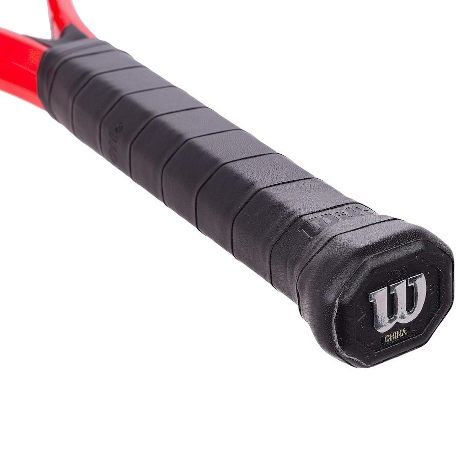 Raquete de Tênis Wilson Pro Staff Precision XL 110 + Tubo de Bola Inni  - REAL ESPORTE