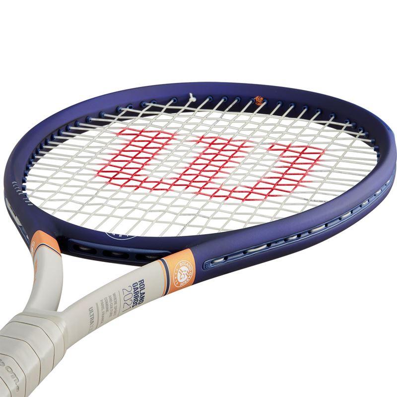 Raquete De Tênis Wilson Ultra 100 Roland Garros 2021+Brinde Corda e Bola  - REAL ESPORTE