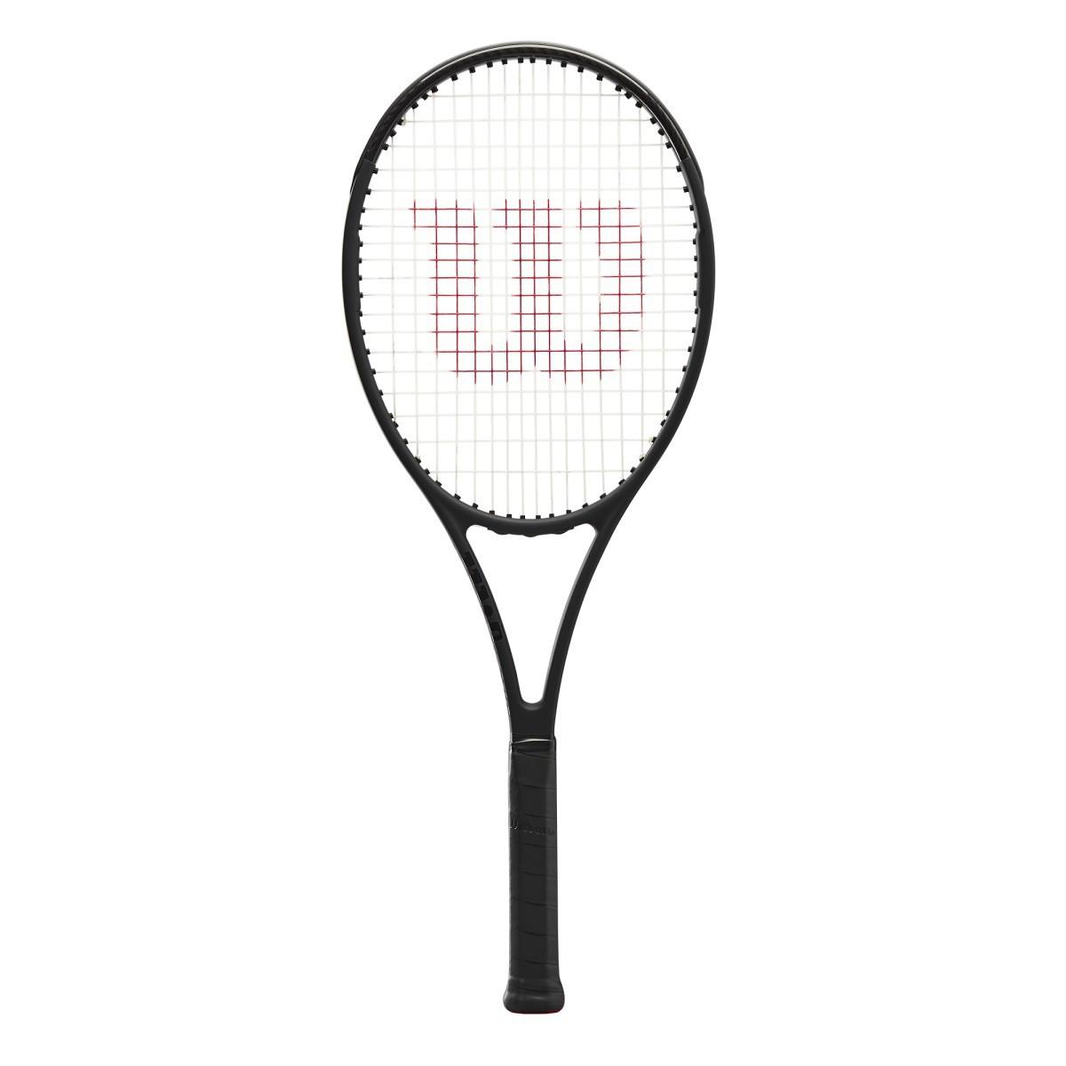 Raquete de Tenis Wilson Pro Staff 97L V13 + Corda e Bola  - REAL ESPORTE