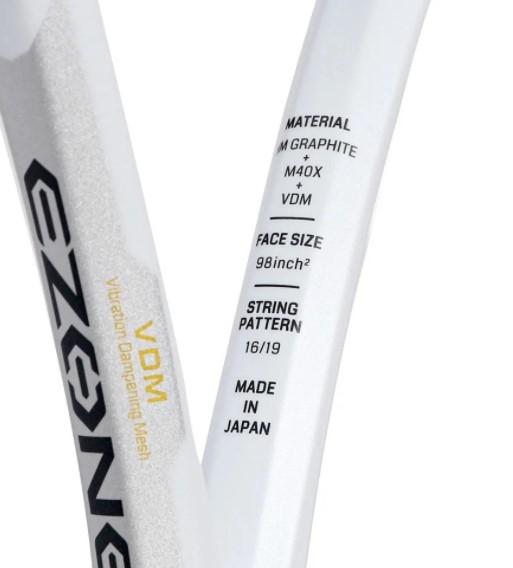 Raquete de Tenis Yonex Ezone 98 L.E. Naomi Osaka - Branca  - REAL ESPORTE