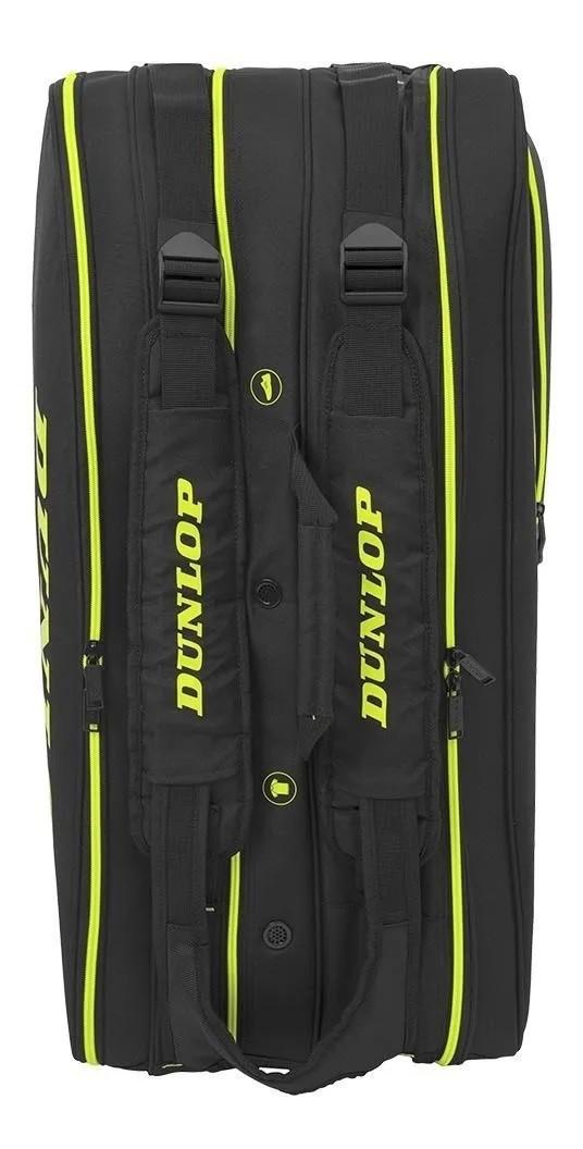 Raqueteira Dunlop Sx Performance X12  - Preto/Verde  - REAL ESPORTE