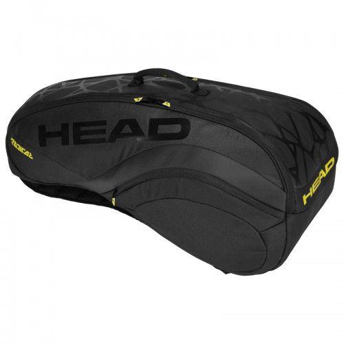 Raqueteira Head Radical 6R Combi New Preta  - REAL ESPORTE