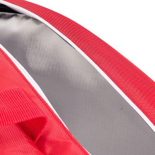 Raqueteira Wilson Team III 12 Pack Vermelha/Branca    - REAL ESPORTE