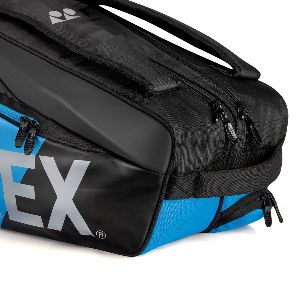 Raqueteira Yonex  Tour Edition X6 - Azul e Preta  - REAL ESPORTE