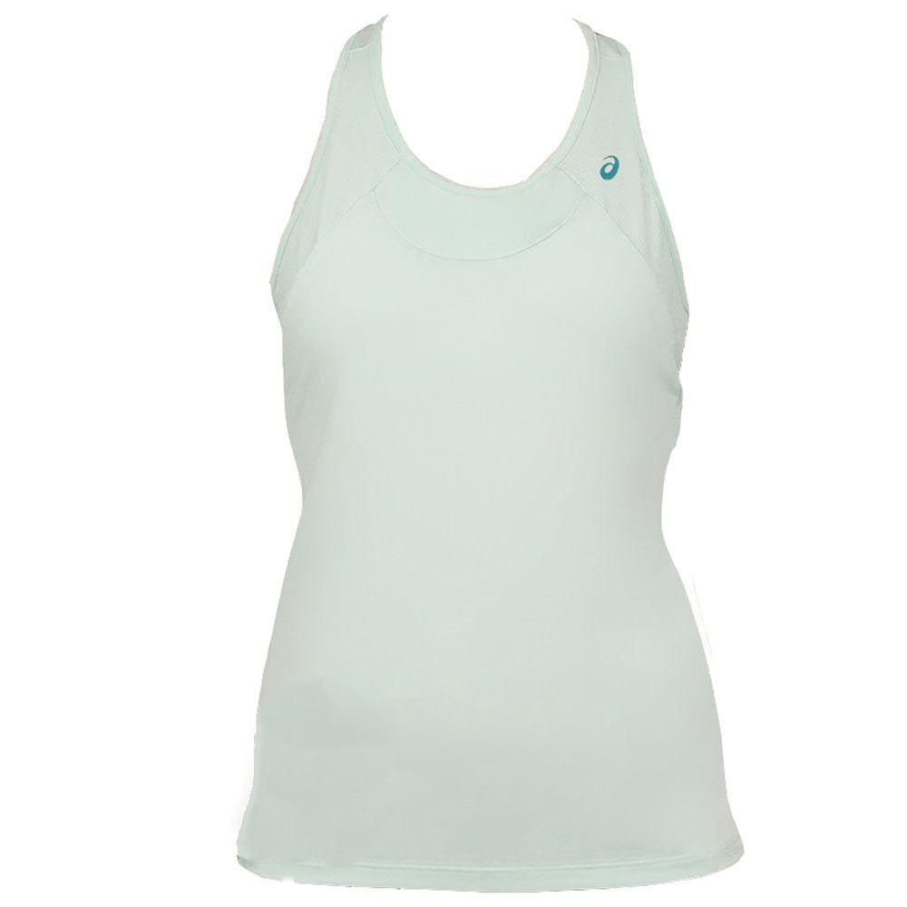 Regata asics tennis y back tank - Azul Acqua  - REAL ESPORTE
