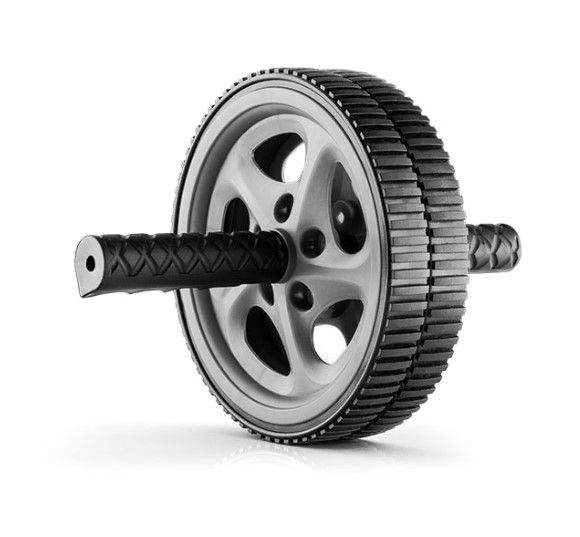 Roda de Exercício Abdominal  Hidrolight - Preta  - REAL ESPORTE