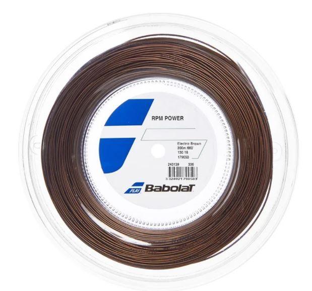 Rolo De Corda Babolat Rpm Power 1.30/16 200m  - REAL ESPORTE