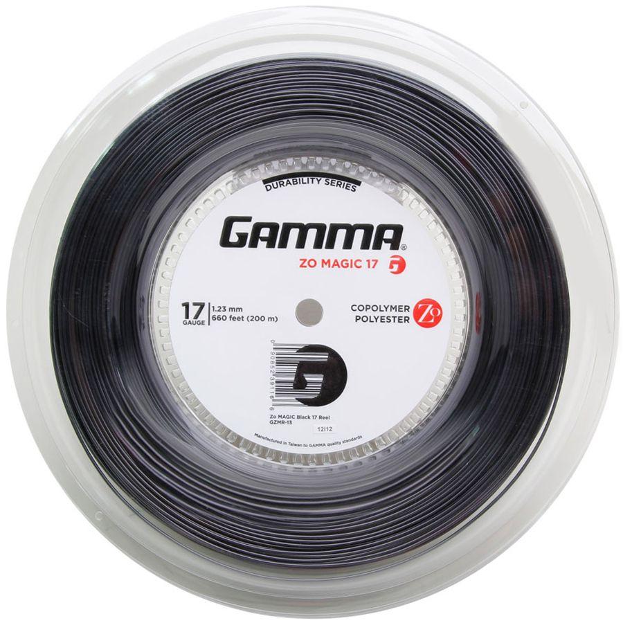 Corda Gamma Zo Magic  123 17 Rolo 200 Metros - Preta  - REAL ESPORTE