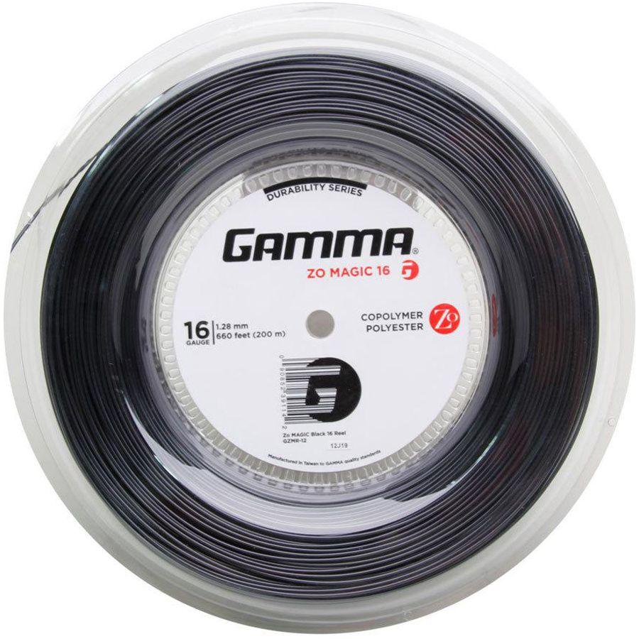 Corda Gamma Zo Magic  128 16 Rolo 200 Metros - Preta  - REAL ESPORTE