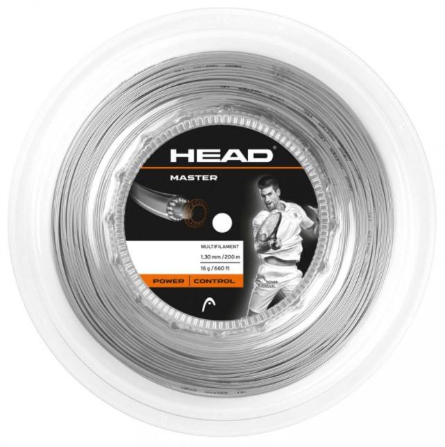 Rolo de Corda Head Master 1.30/16 - Cinza  - REAL ESPORTE