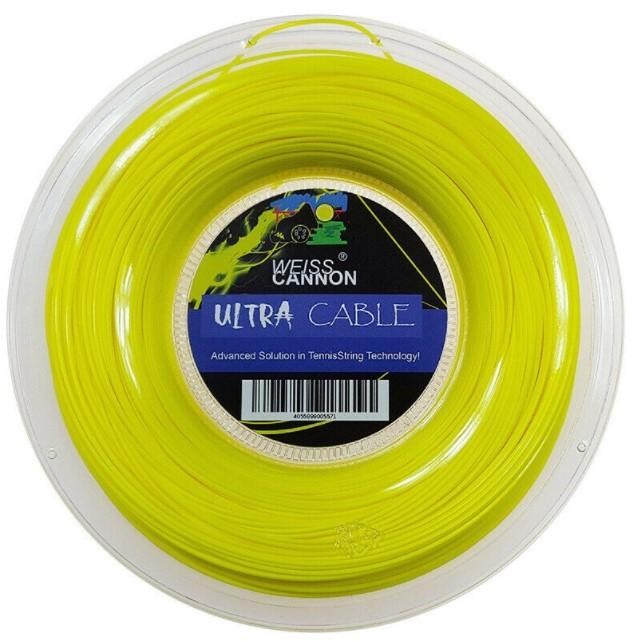 Rolo de Corda Weisscannon Ultra Cable - Amarela - 1.23/17 200M   - REAL ESPORTE