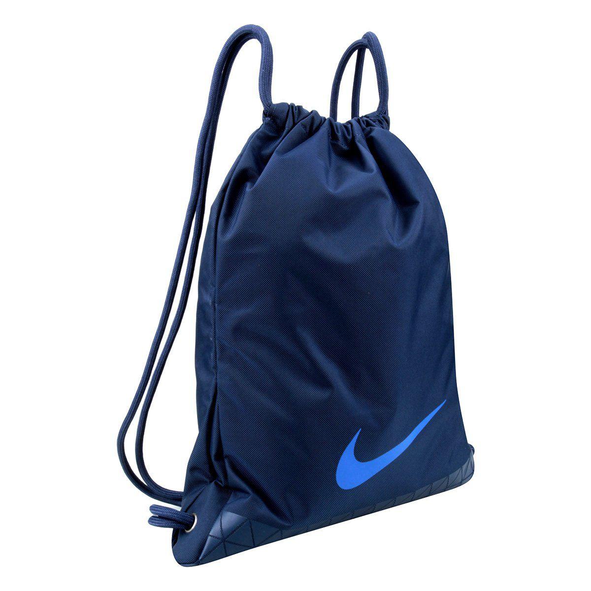 Sacola Nike Gym Vapor 2.0 - 12 Litros - Azul  - REAL ESPORTE