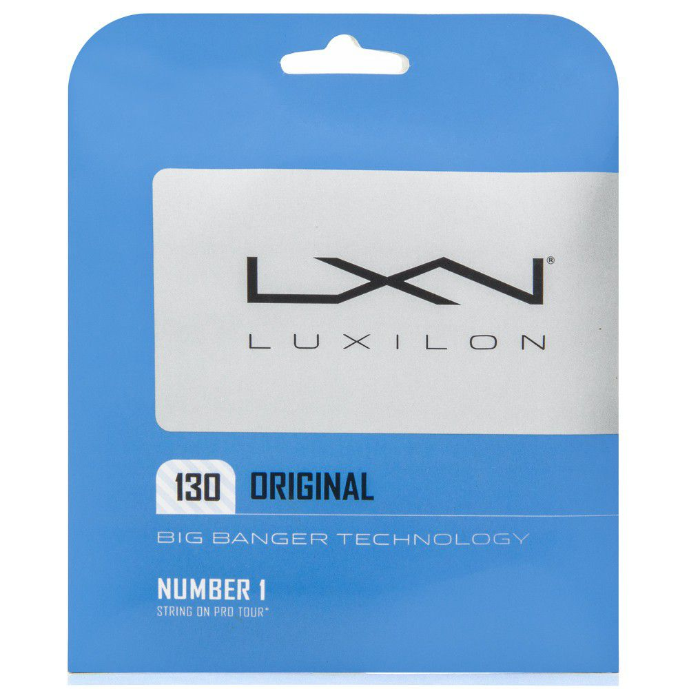 Set de Corda Luxilon Original 1.30MM/16L Set Individual  - REAL ESPORTE