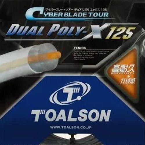 Set de Corda Toalson Dual Poly-X 1.25mm/16L Set Individual    - REAL ESPORTE