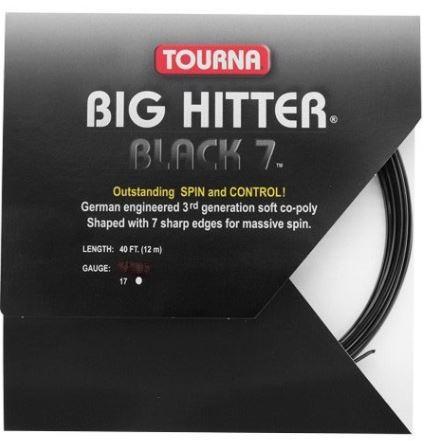 Set de Corda Tourna Big Hitter Black 7 1.25 - 12M  - REAL ESPORTE
