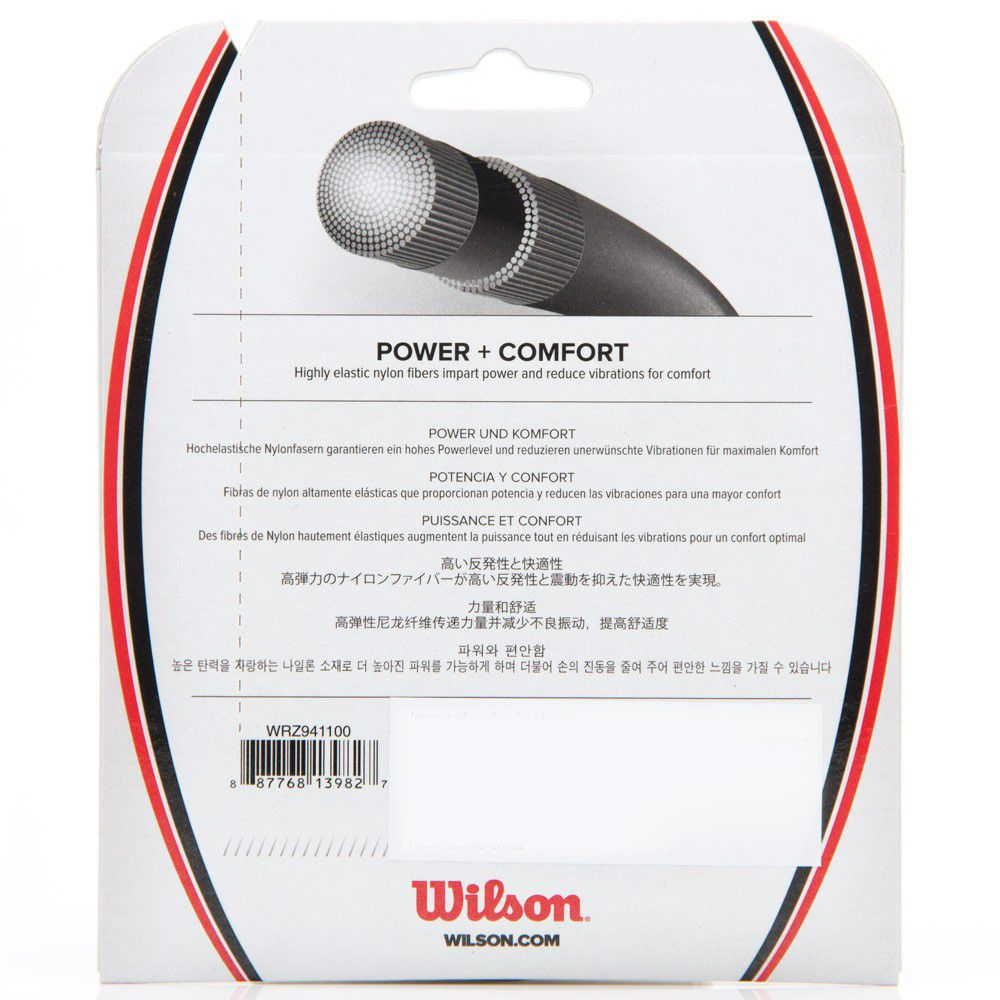 Set de Corda Wilson Sensation 1.25mm/17L Set Individual    - REAL ESPORTE