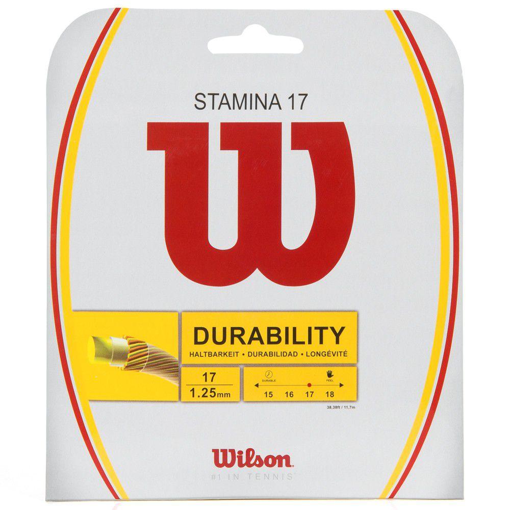 Corda Wilson Stamina 16L 1.25mm 12m - Set Individual    - REAL ESPORTE