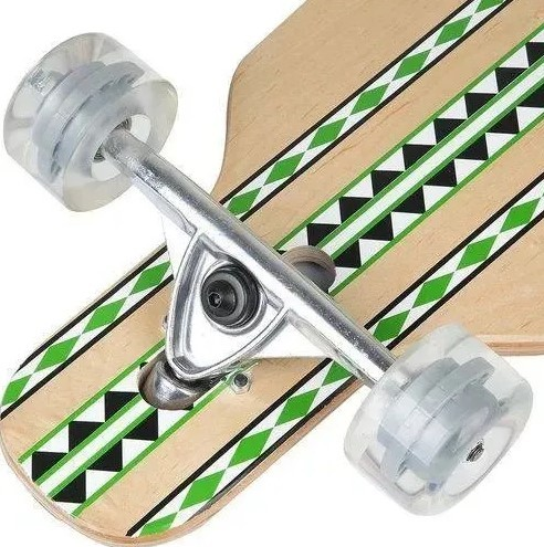 Skate Longboard Semi Profissional  Fenix  - REAL ESPORTE