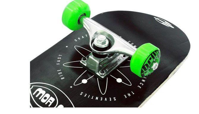 Skate Skateboard Mormaii Chill Átomo - Preto  - REAL ESPORTE