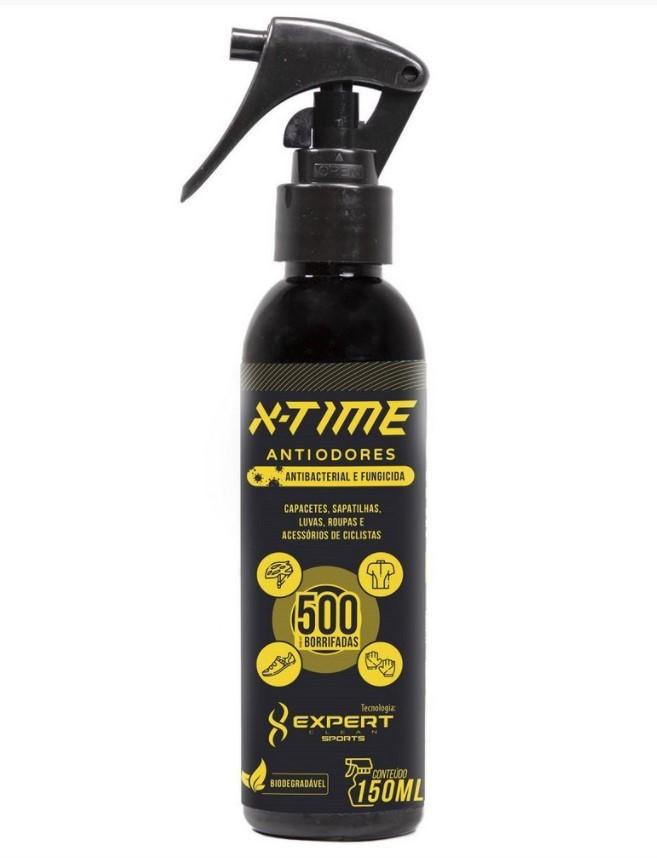 Spray Antiodores X-Time para roupas e acessórios de ciclismo  - REAL ESPORTE