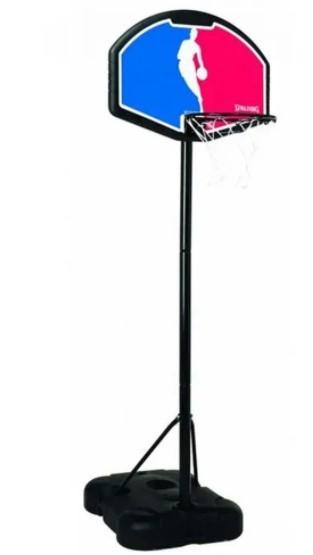 Tabela de Basquete Spalding NBA 32° Logoman Jr. C/ Suporte e Base - Polipropileno  - REAL ESPORTE