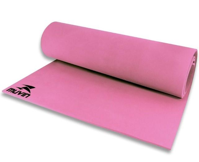 Tapete para Yoga em Eva  Muvin – TPY-300 - Pink  - REAL ESPORTE