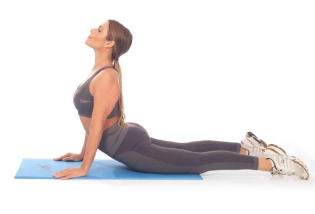 Tapete para Yoga Speedo Fit - Azul  - REAL ESPORTE