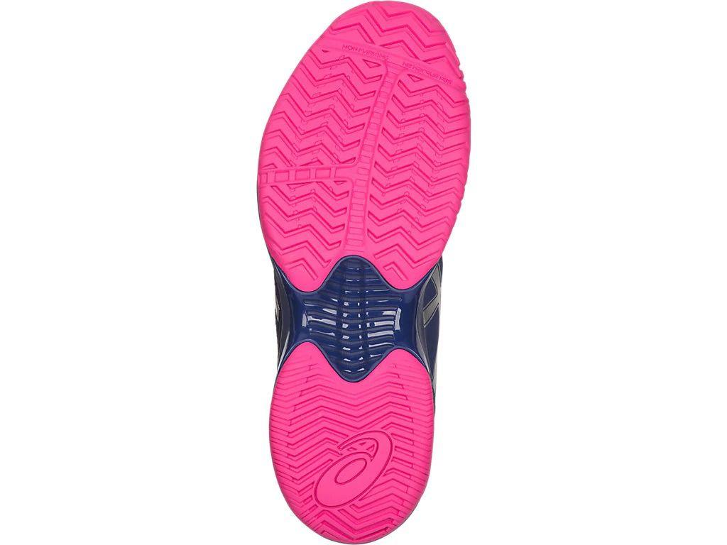 Tênis Asics Gel Court Speed Azul Rosa  - Quadra Rápida  - REAL ESPORTE